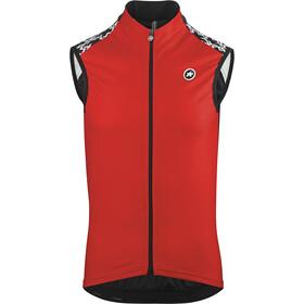 assos Mille GT - Gilet cyclisme - rouge/noir